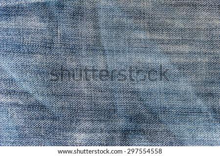 blue denim jeans texture, background 1 - stock photo