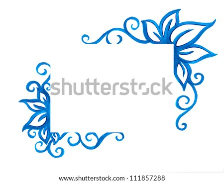 Flowery Border Images RoyaltyFree Images Vectors – Paper Border Designs Templates
