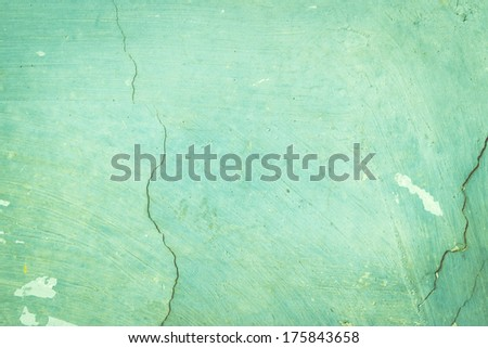 Blue exposed concrete wall texture - stock photo