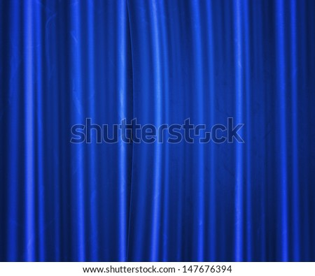 Blue Fabric Studio Backdrop