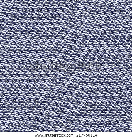 blue  fabric texture closeup