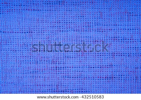 blue fabric texture for background.