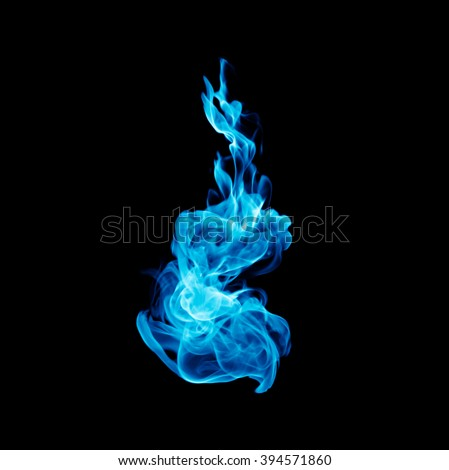 natural gas flame white background