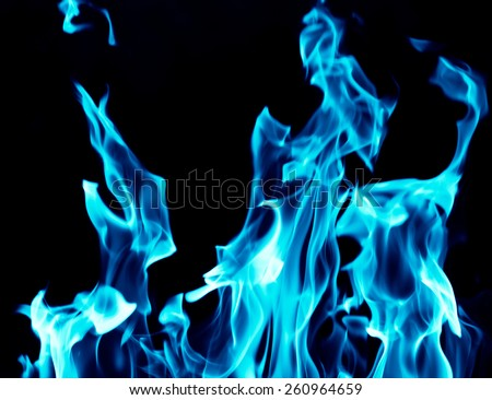 blue flames on black background stock photo edit now 260964659