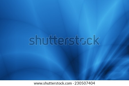 Blue flow abstract wide screen modern wallpaper design - stock photo