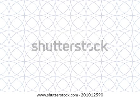 Blue fractal background with a simple decorative flower of life pattern in high resolution against white color - stock photo