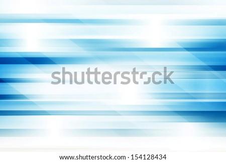Blue Futuristic Background - stock photo