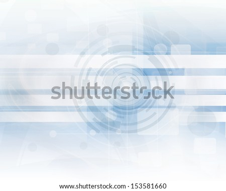 Blue Futuristic Technology Background
