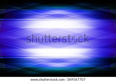 Blue geometric diamond pattern with spotlight