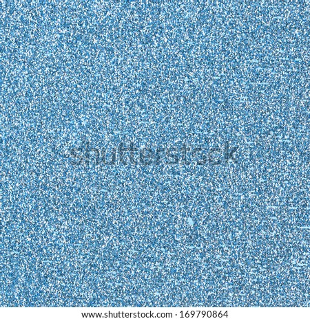 Blue Glitter Background - stock photo