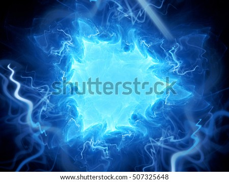 Valhalla stock images royalty free images vectors shutterstock blue glowing triangle plasma field in space computer generated abstract background 3d render voltagebd Images