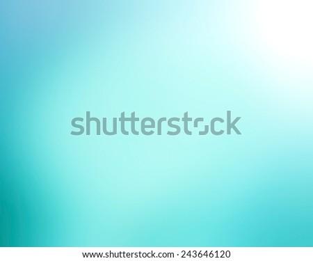 Blue gradient radial blur design - stock photo