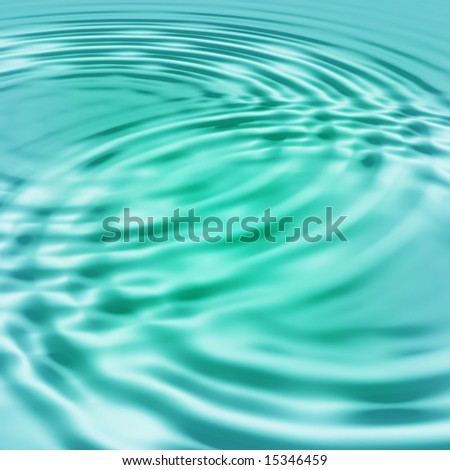 blue green background ripple