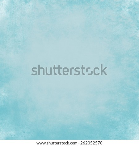 blue green background, soft elegant vintage grunge texture background abstract sponge design on wall illustration on paper or stationary, solid plain background for Easter, teal or turquoise color - stock photo
