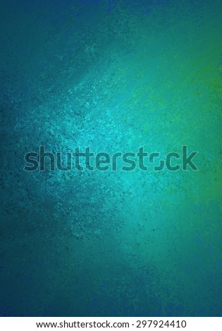 blue green background with shiny painted metal texture - stock photo