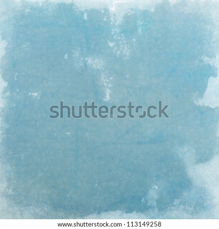 blue grunge background paper texture - stock photo
