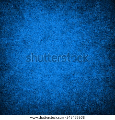 Blue grunge background wall