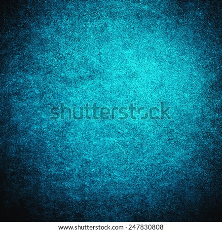 Blue grunge background wall - stock photo