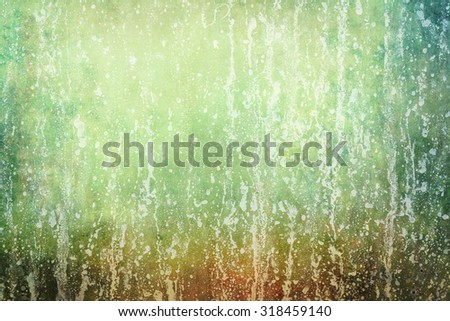 blue grunge background with splatters  - stock photo