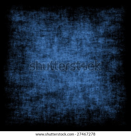Blue grunge retro background - square format