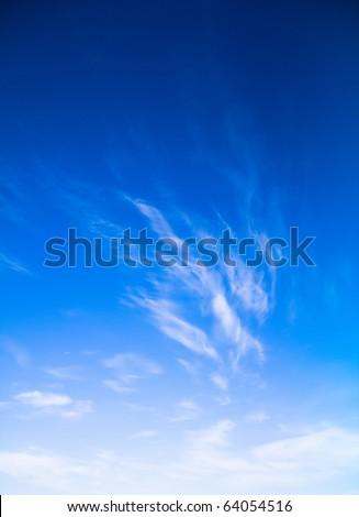 Blue Heavens - stock photo
