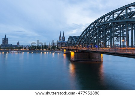 Blue Hour at Cologne Cathedral