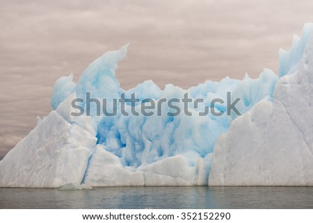 blue iceberg in South America, Chile. Beautiful iceberg from a glacier in southern Chile, amazing nature amazing nature amazing nature amazing nature amazing nature amazing nature amazing nature