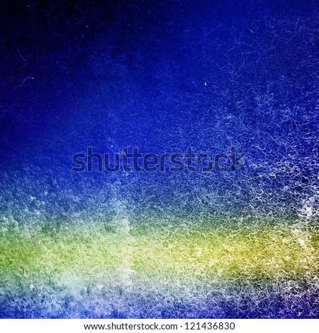 Blue invitation - stock photo