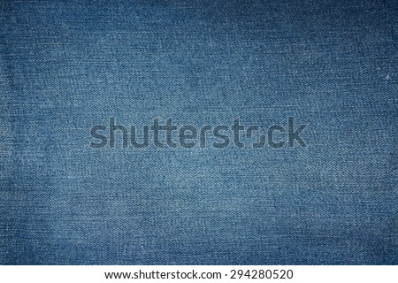 blue jean background classic nature tone jean - stock photo