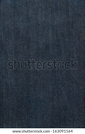 Blue jean denim used as a background - stock photo