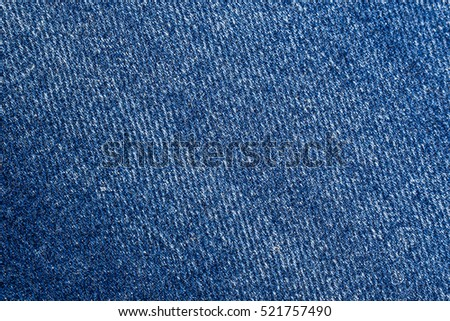Blue jeans close up