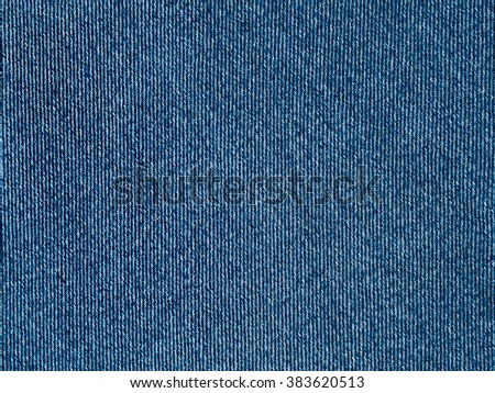 Blue jeans fabric surface background, modern clean denim material texture