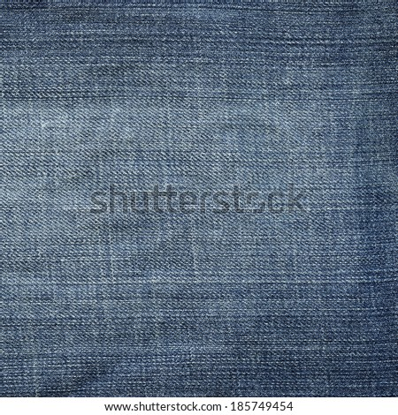 blue jeans fabric texture   - stock photo