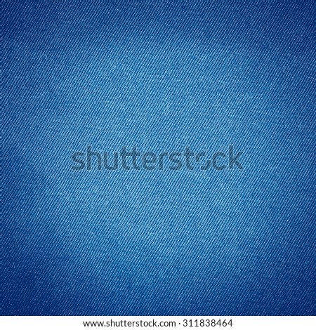 blue jeans fabric texture background, modern denim material texture subtle lines pattern - stock photo