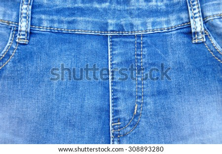 blue jeans for background - stock photo