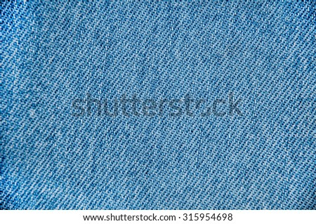 Blue jeans textile for background. - stock photo
