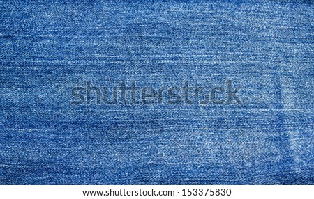 blue jeans texture for background. - stock photo