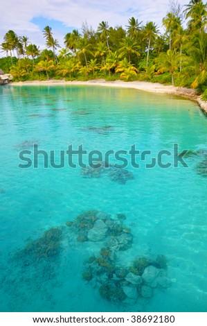 Blue Lagoon - stock photo