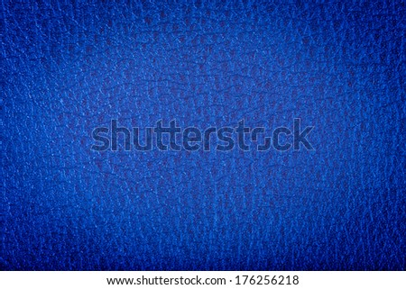 blue leather texture can be used as a background