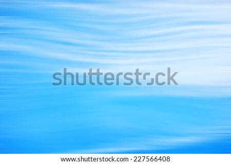 Blue Light Wave Abstract Background - stock photo