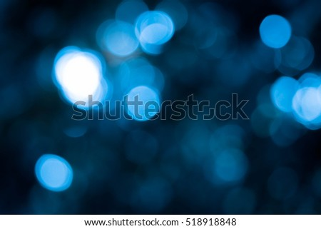 Blue lights background