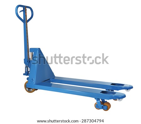 how to work a pallet jack