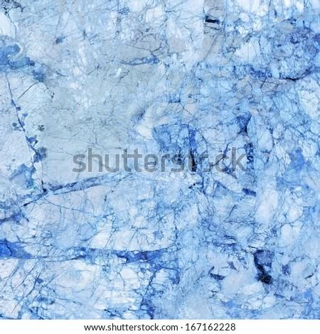 blue marble stone - stock photo