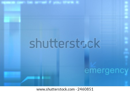 Blue Medical abstract background. - stock photo