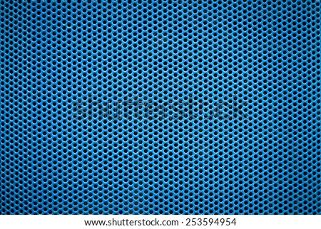 blue metal abstract background illustration - stock photo