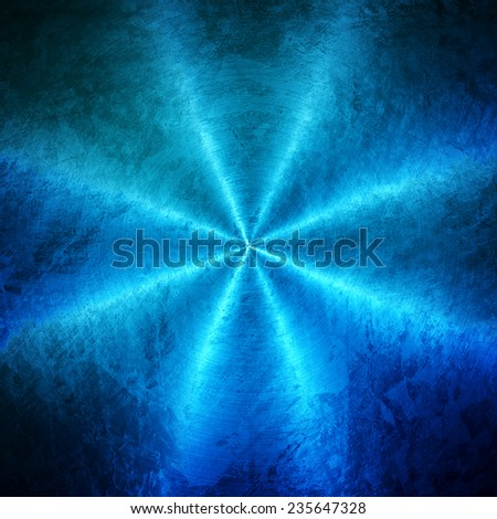 blue metal background  - stock photo
