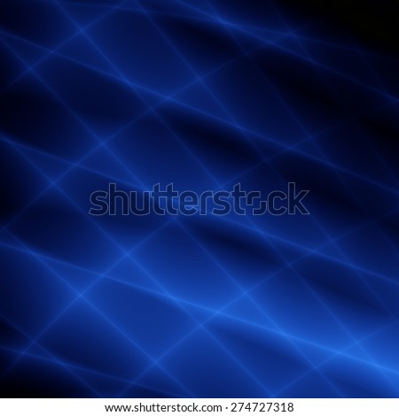 Blue modern wallpaper illustration pattern - stock photo