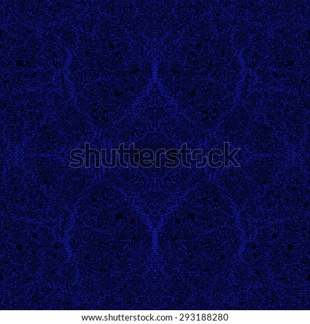blue monochrome ornament pattern, abstract doily background