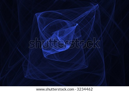 Blue navy abstract background pattern over black - stock photo
