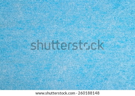 Blue nonwoven fabric texture background - stock photo